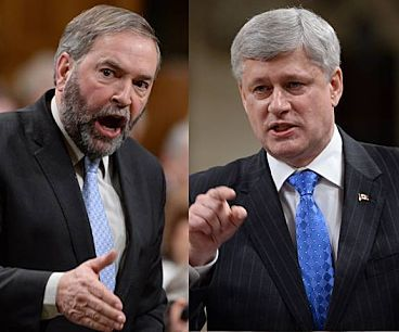 Mulcair Promises Proportional Representation If NDP Wins Next Election