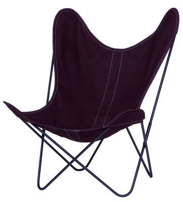 AA Butterfly Armchair - Cloth / Black structure