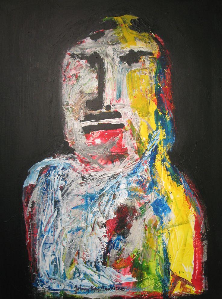 Maleri Zeus 60x80 cm
