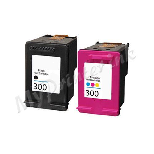 HP Remanufactured 300XL (Black+Tri-Colour)  Multipack Ink
