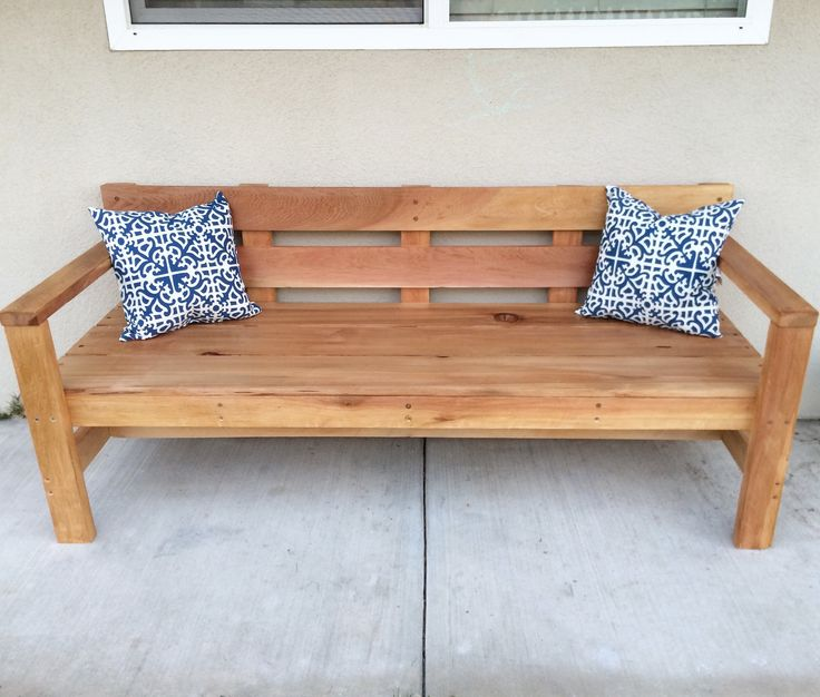 Modern Park Bench | Do It Yourself Home Projects from Ana White
