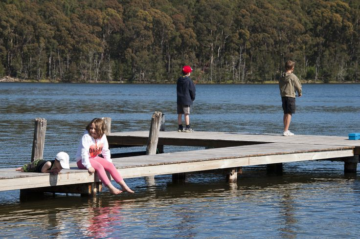 Fishing is so much fun at BIG4 Bungalow Park.