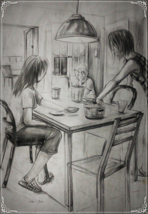 Artı Sanat ve Resim Atölyesi desing , charcoal , karakalem , çizim , art , drawing , tasarım