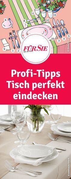 Profi-Tipps: Tisch richtig eindecken so geh's für Hochzeit, Dinner oder Weihnachtsmenü