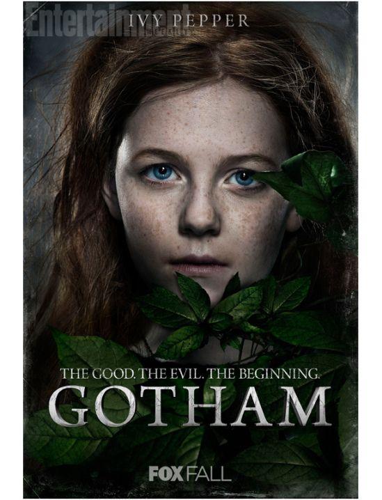 PIPOCA COM BACON - Pôsteres de GOTHAM - a série do Batman da Nova Geração -Hera Venenosa_GOTHAM_serie - #PipocaComBacon