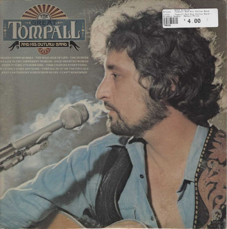 Tompall And His Outlaw Band - The Great Tompall And His Outlaw Band