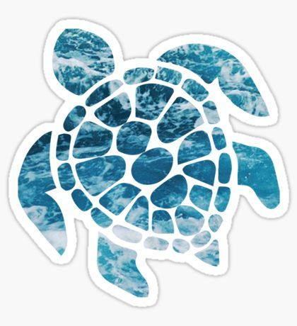 Cute Stickers Sea Turtles And Turtle