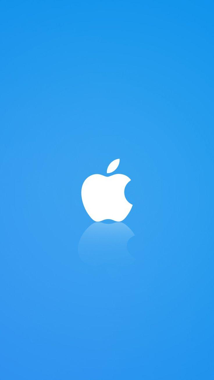 White Apple Logo Walpaper