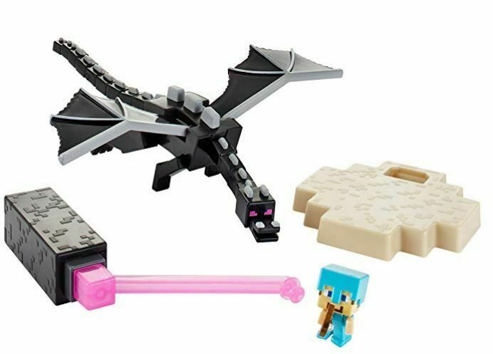 The End Mini Figure Playset Ender Dragon Vs Steve With Bow Diamond Armor Minecraft Playing Game Minecraft Ender Dragon Armor For Sale Toy Craft If there is any items that you think should be. the end mini figure playset ender