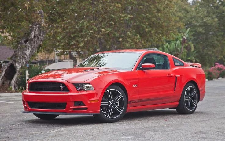 Foto: The red 2014 Ford Mustang GT!