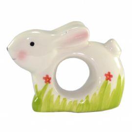 """Suport din ceramica pentru servetele de masa """"Iepuras"""""""
