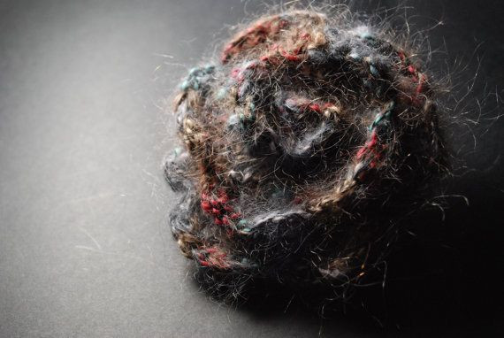 Fabric Brooch Crochet Brooch Crochet Flower Flower by aboutCRAFTS