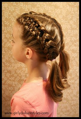 Girly Do Hairstyles: By Jenn: Double Knot Braid