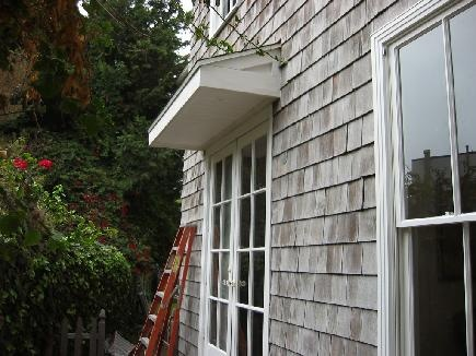 Door Overhang Shed Ideas Pinterest Copper Gutters