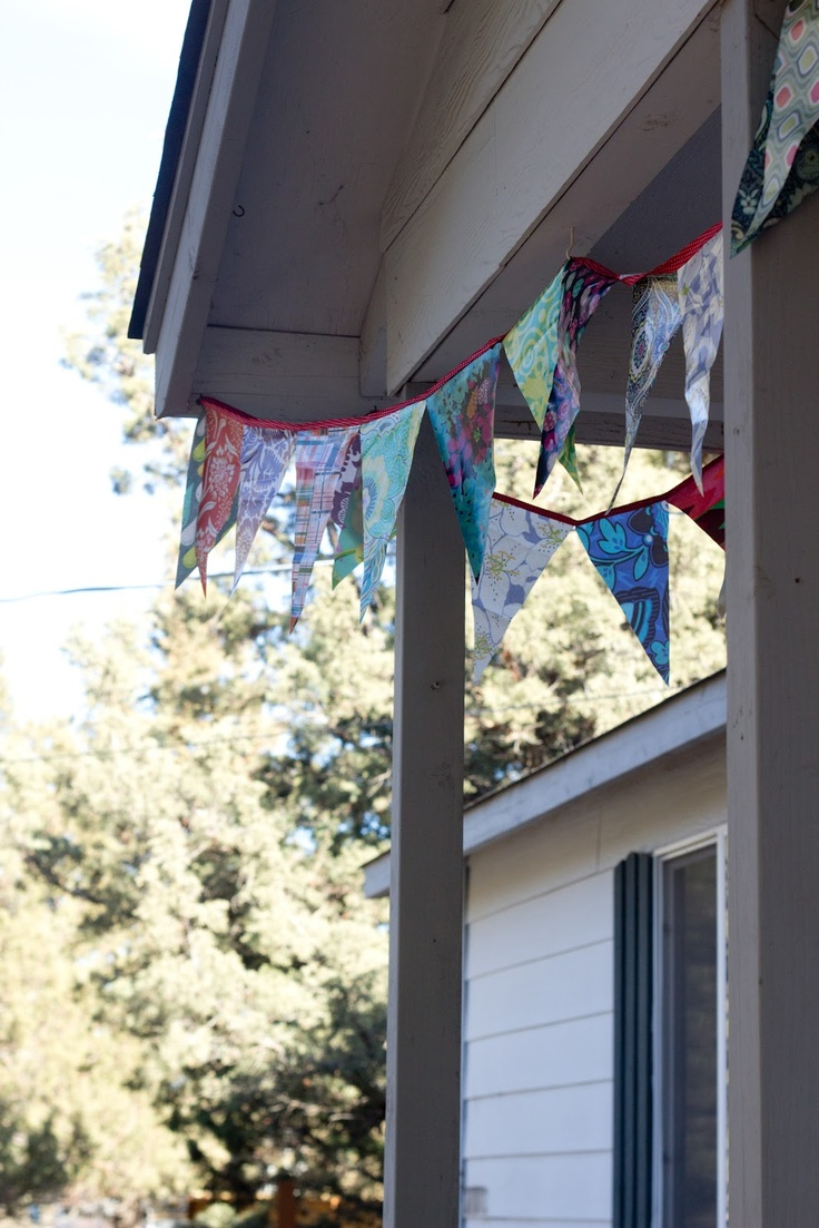 laminate bunting for Imaginegnats.blogspot.com