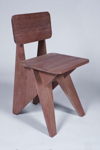 """Michael Boyd """"Arrowhead"""" side chair"""
