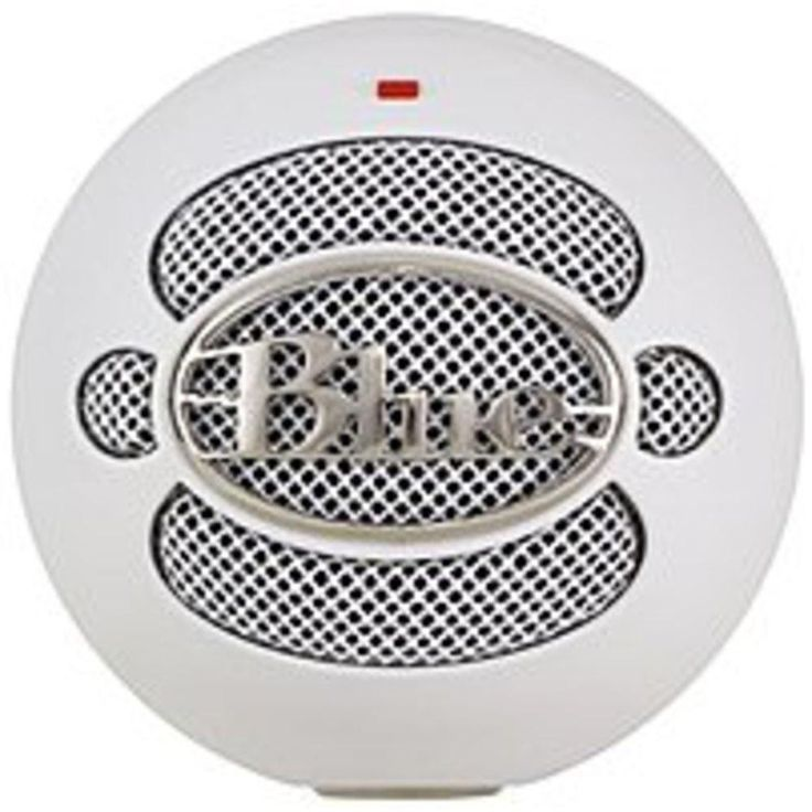 Blue Microphones SNOWBALL USB External Microphone - Wired - Textured White