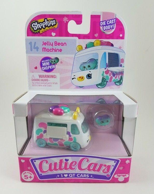 Shopkins Cutie Cars #14 Jelly Bean Machine Die Cast Body #Shopkins