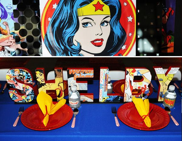 REAL PARTIES: Wonder Woman Birthday // Hostess with the Mostess®