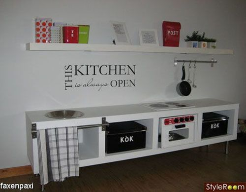 mommo design - IKEA HACKS - Lack kitchen