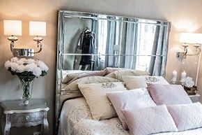 Nydelig Celestina sengegalv i speil