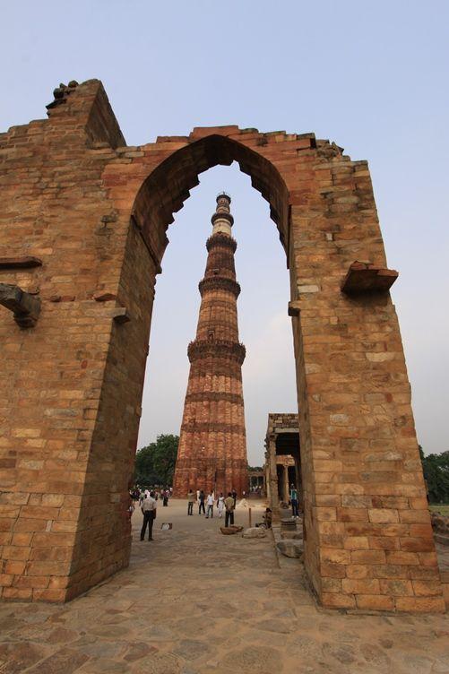 Qutb Minar a Delhi. Foto di Samuele Fracasso