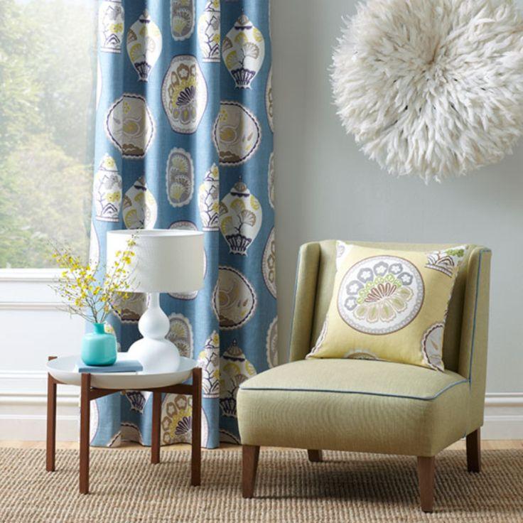 Warwick Fabrics : CHERRY GARDEN  DRAPERY HANGER