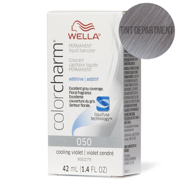 Wella Colour Charm Toner 050 Cooling Violet In 2020 Wella