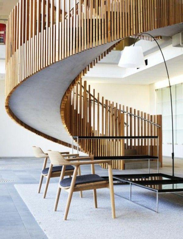 les 25 meilleures id es de la cat gorie escaliers en. Black Bedroom Furniture Sets. Home Design Ideas