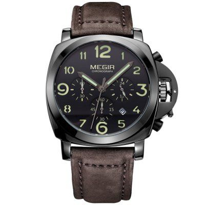 Do you like this? Invest in your appearance now!...Price: 52.99 & FREE Shipping Worldwide...Get yours --> https://www.merqeen.com/megir-wrist-watch-for-men-with-genuine-leather-strap-brown/ #watches #luxurywatches #menswatches #mensfashion #luxurylifestyle