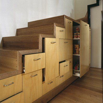 17 best images about staircase storage inspiration on for Meuble 6 cases escalier
