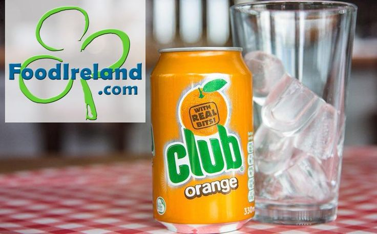 An ice cold glass of Club Orange - can now be enjoyed in USA!