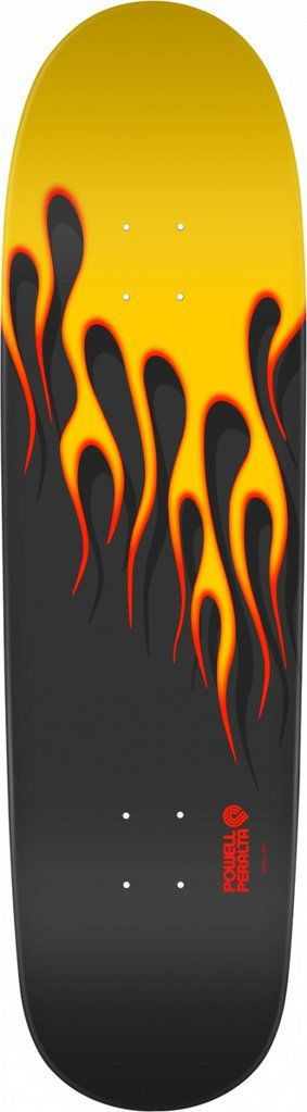 Powell Peralta Hot Rod Yellow Flames Skateboard Deck **Pre-Sale**