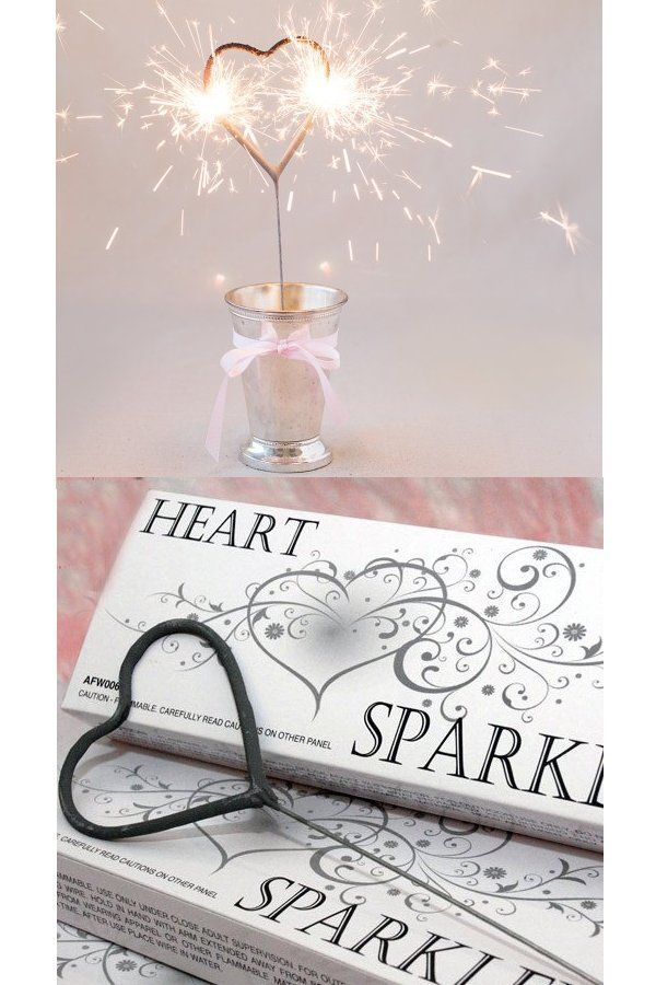 Make Your Wedding Exit A Memorable One By Giving Guests These Heart