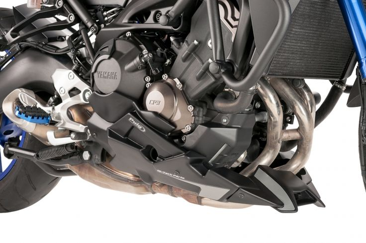 Engine spoilers For the bike model Yamaha MT-09 TRACER 2015 | Puig