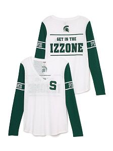 Michigan State Apparel - Hoodies & More - PINK obviously I already have this.. so awesome