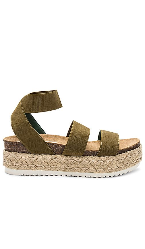 4e225a40a7e4 Kimmie Platform Sandal in Olive