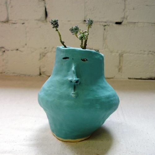 Pot Head Planters: 127 Best Pot Heads & Planters Images On Pinterest