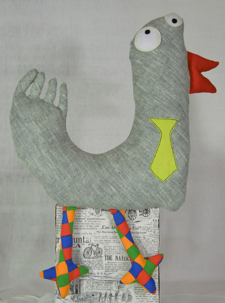 #wystrój  #rękodzieło  #ozdoby #handmade  #falbana.pl  #zwierzak #maskotka  #przytulanka  #ptak #kaczka #wrona