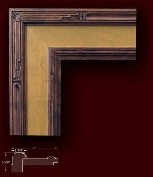 1000 Images About Art Deco Nouveau Picture Frames On Pinterest