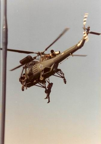 Westland Wasp No85, operating off South African Ship SAS President Kruger in…
