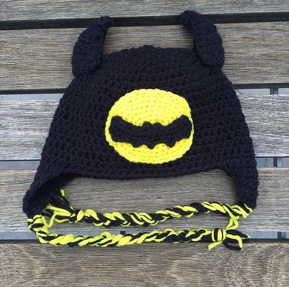Sombrero Crocheted de Batman