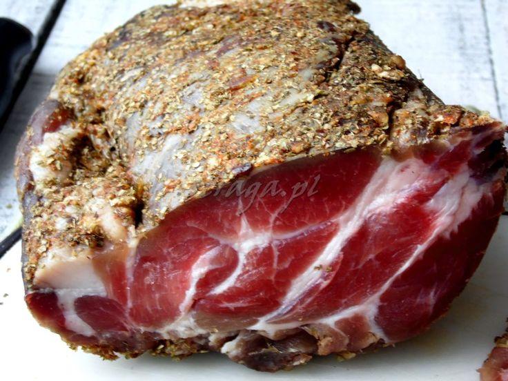 Przepis na domową wędlinę surową suszoną - Damsko-męskie spojrzenie na kuchnię