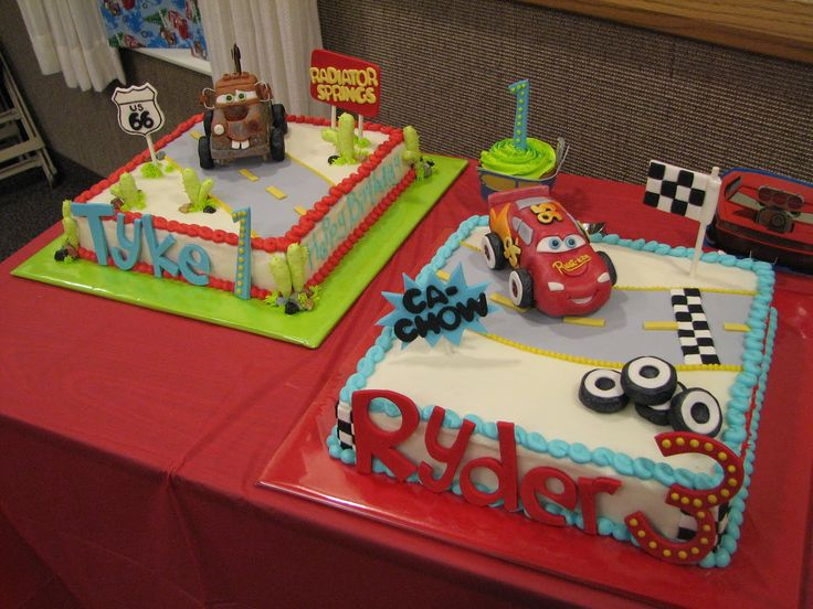 Lightning McQueen Cars 2 Cakes  Disney Birthday Cake