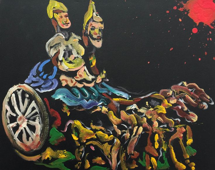 Brett De Palma, Hittites on Wheels
