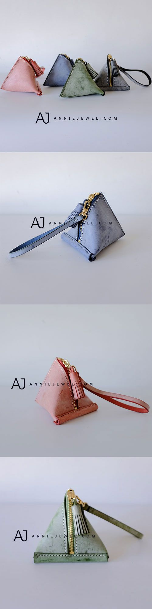 CUTE! HANDMADE LEATHER COIN WALLET VINTAGE KEY WALLET CLUTCH PURSE WALLET BAG FOR GIRLS WOMEN