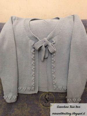 Cri e Scott - knitting's blog: Giacchino True Love
