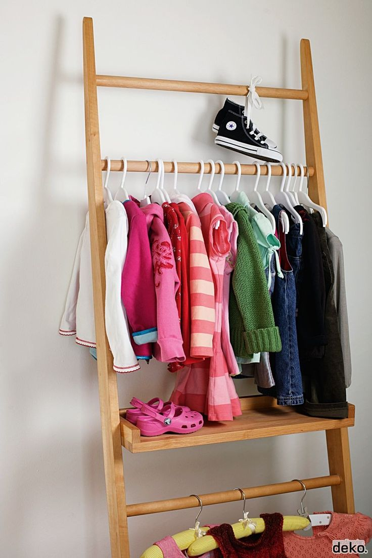 para colgar y/o apoyar  Clothing Rack for kids