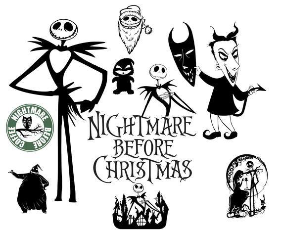 Nightmare Before Christmas Svg Christmas Svg Nightmare Svg Nightmare Before Christmas Decorations Nightmare Before Christmas Shirts Nightmare Before Christmas