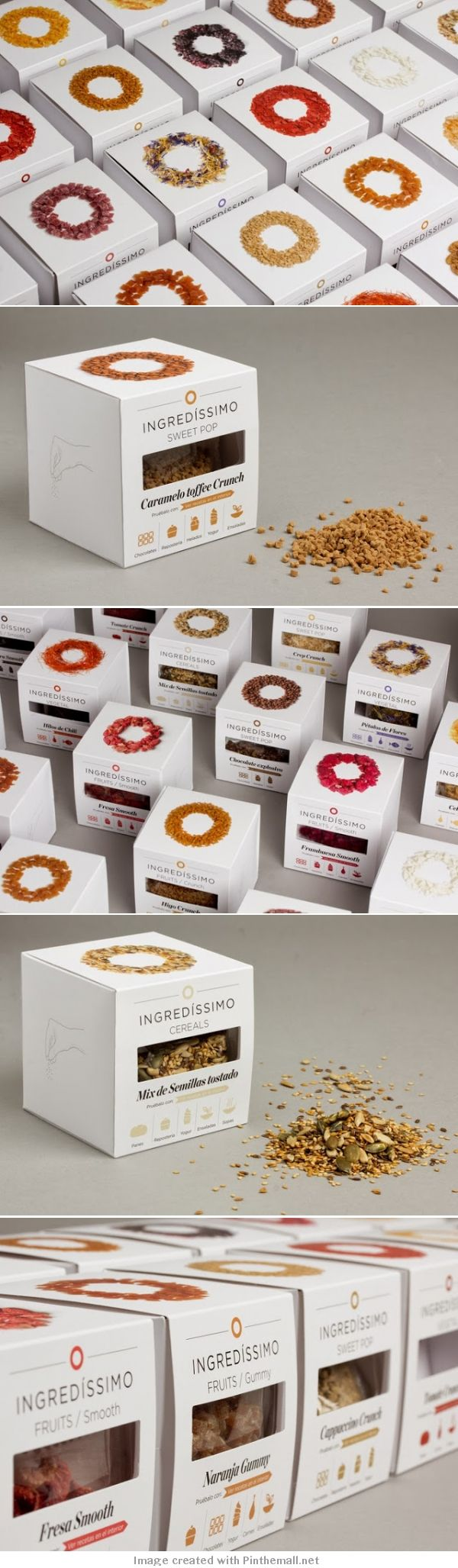 Unique Packaging Design on the Internet, Ingredissimo #packagingdesign #packaging #design